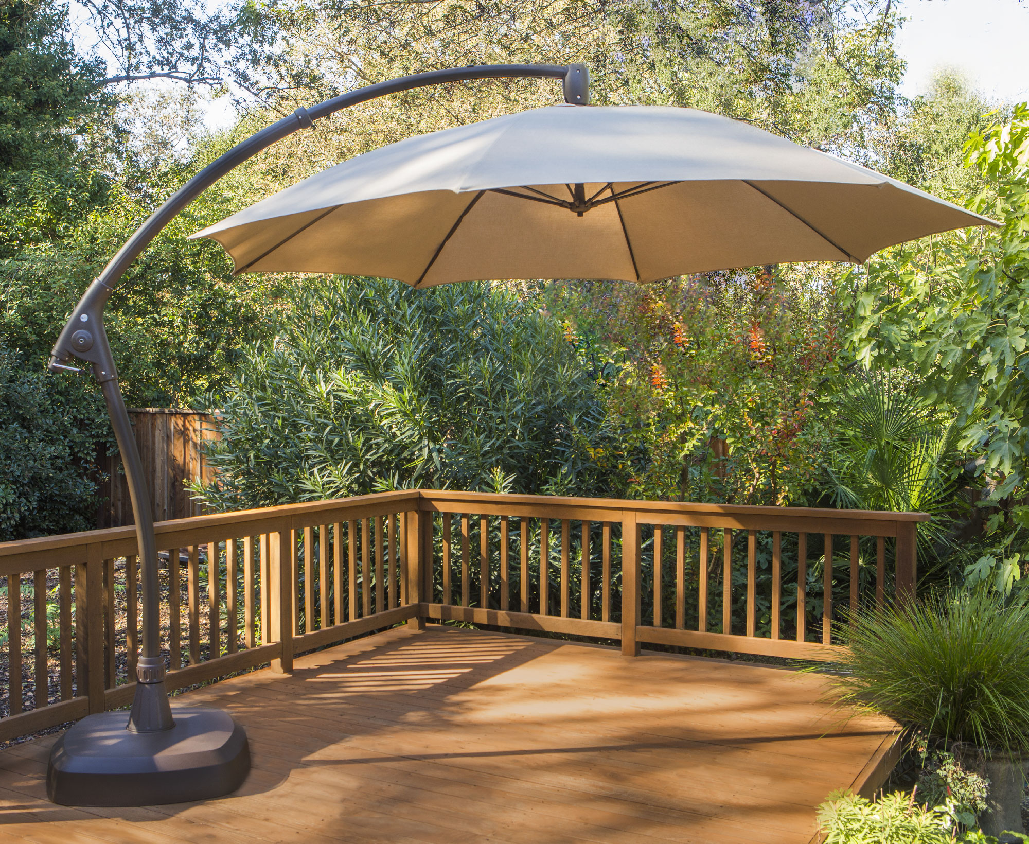 Price $769.99 & 11ft Cantilever Umbrella - Full Unit - PROSHADE
