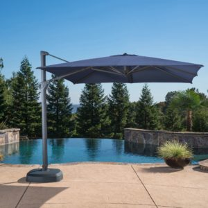 10ft x 10ft Square Cantilever Umbrella